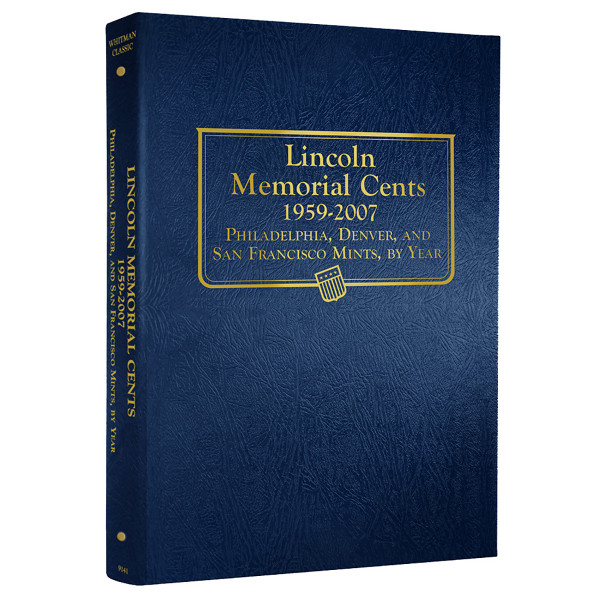 Lincoln Memorial Cents 1959-2007