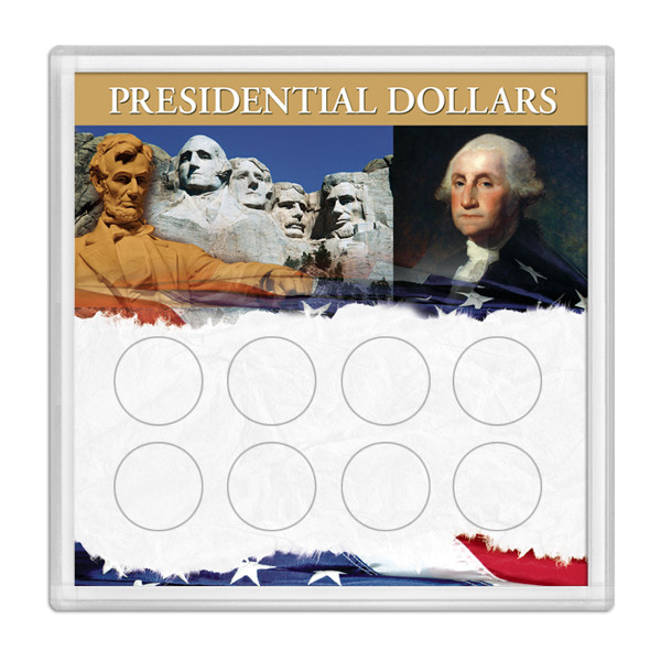 Presidential Dollars Frosty Case 6.5 X 6.5