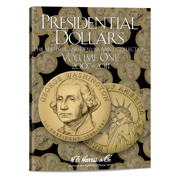 Presidential Dollar Folder Vol. I - P&D Mint - Harris Brand