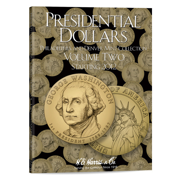 Presidential Dollar Folder Vol. II - P&D Mint - Harris Brand