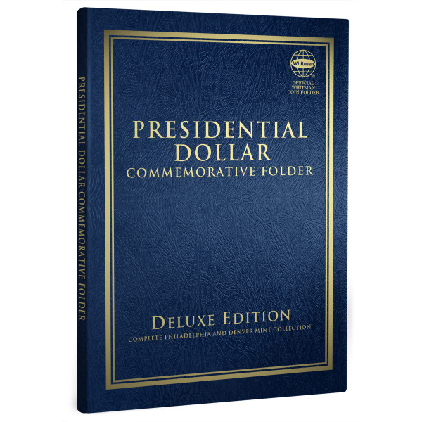Presidential Dollar Commemorative Folder - Deluxe Edition