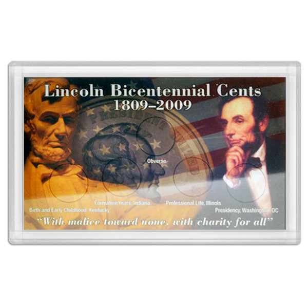 Abraham Lincoln Bicentennial Frosty Case – 3x5
