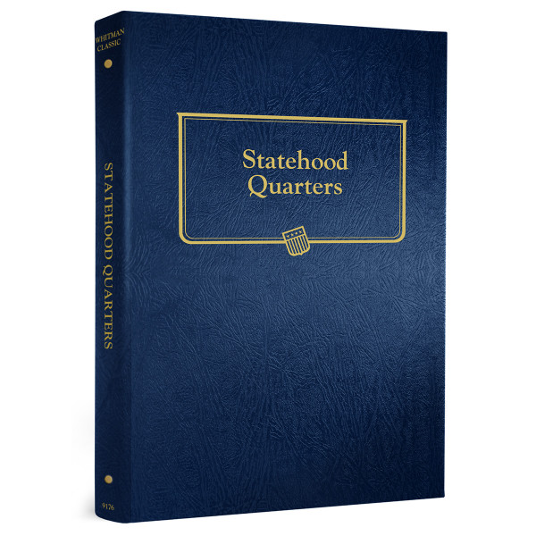 Statehood Quarters Album with Trust Territories & District of Columbia