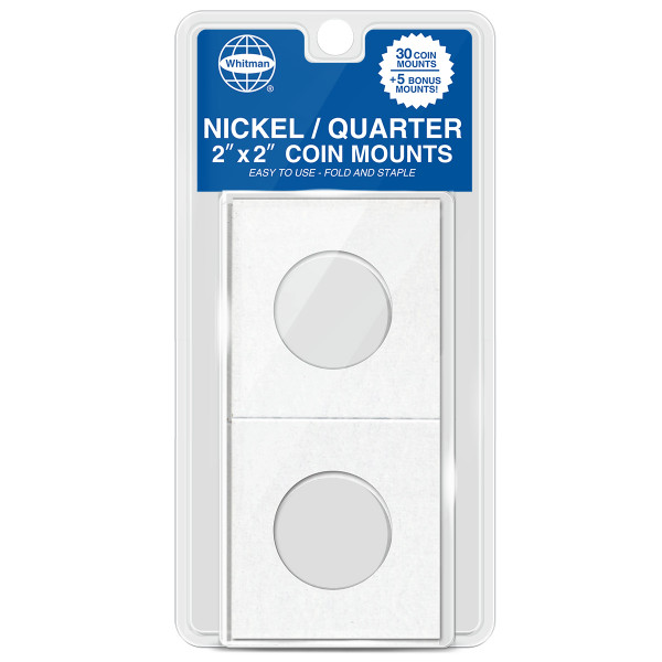 Nickel-Quarter Mylar 35 Count