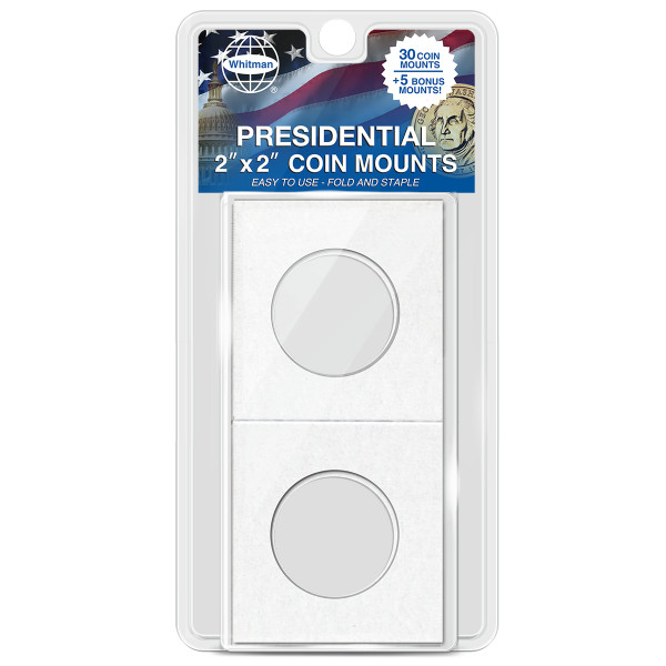 "Presidential 2""x2"" Coin Mounts"
