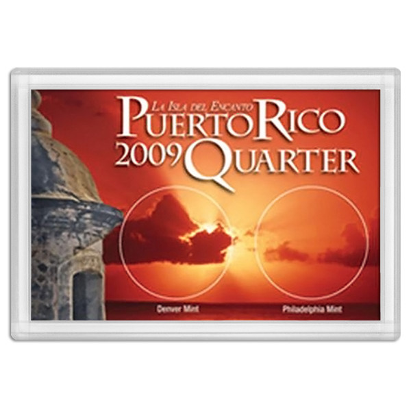 Frosty Case 2X3 Puerto Rico Quarter - 2009