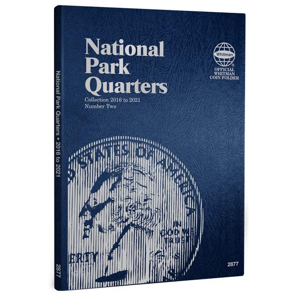 Whitman National Park Quarters Folder - Volume 2