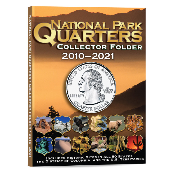 Whitman National Park Quarters Folder
