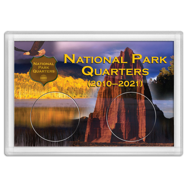 National Park Quarter Holder - Mountain 2x3