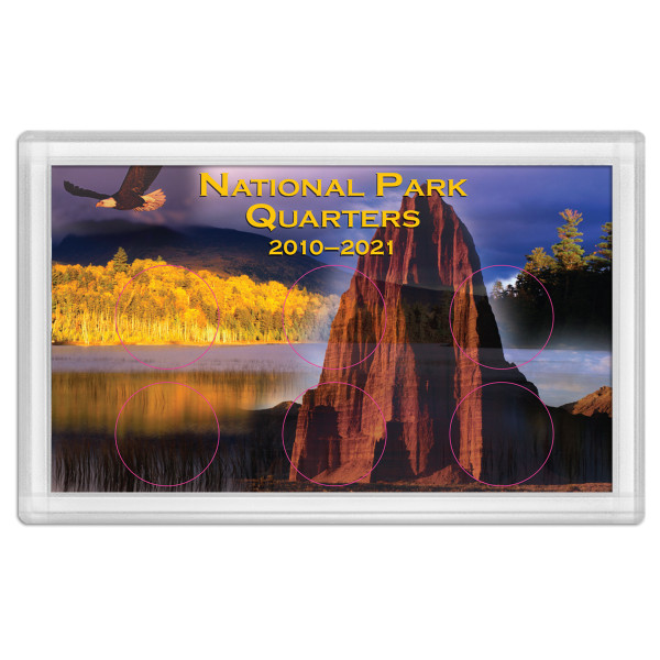 National Park Quarter Holder - Mountain 3x5