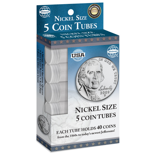 Nickel Tubes (5 Count)