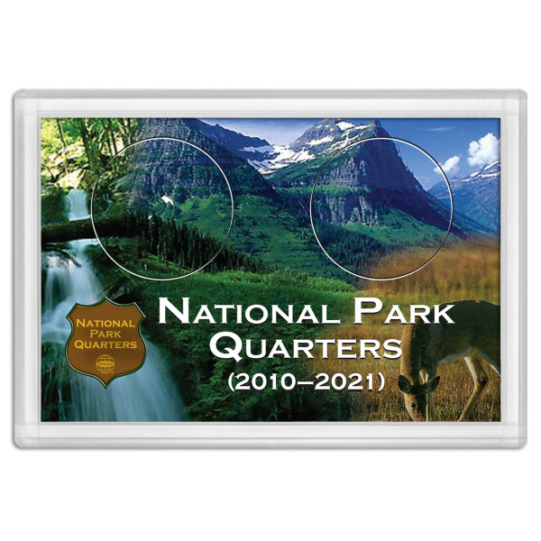 National Park Quarter Holder - Deer 2x3