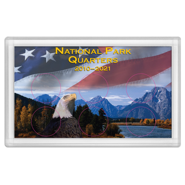 National Park Quarter Holder – Eagle 3X5