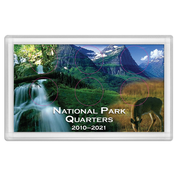 National Park Quarter Holder – Deer 3X5
