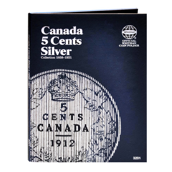 Canadian 5 Cents Silver, 1858-1921