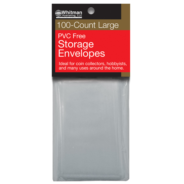 PVC-Free Poly Envelopes, Large