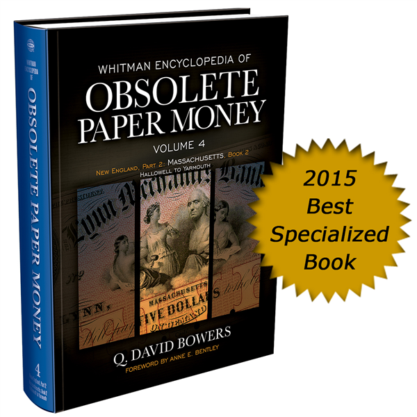 Whitman Encyclopedia of Obsolete Paper Money, Volume 4