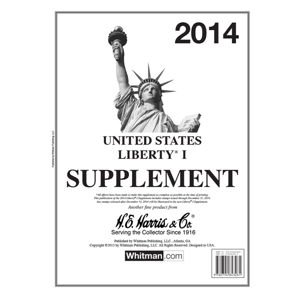 2014 Liberty I Stamp Supplement