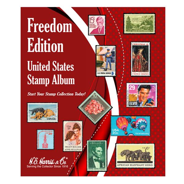 Freedom Edition United States Stamp Album