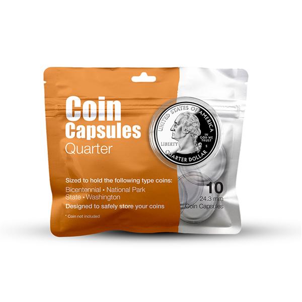 Quarter Coin Capsule Pack