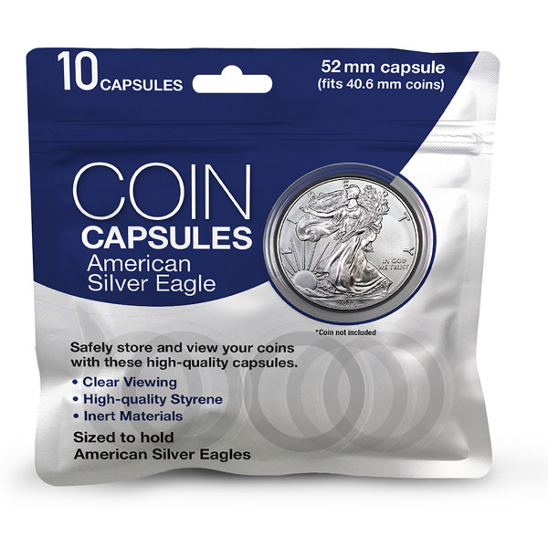 American Silver eagle Coin Capsules
