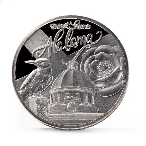 Alabama Bicentennial Sweet Home Commemorative Coin obverse