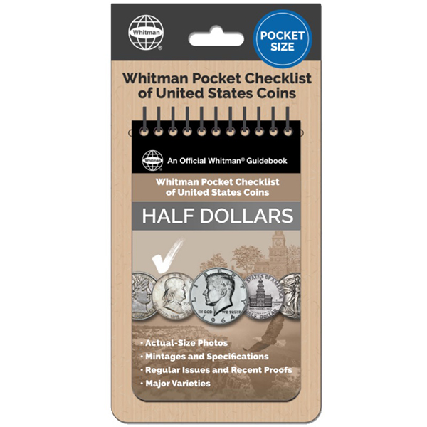 Whitman Pocket Checklist of United States: Half Dollars