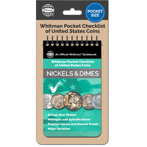 Whitman Pocket Checklist of United States: Nickels and Dimes