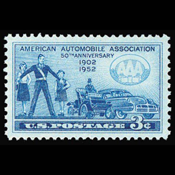 1952 3c AAA Mint Single