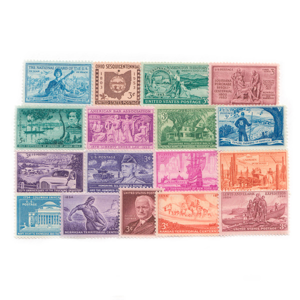 1953-1954 Commemorative Mint Year Set