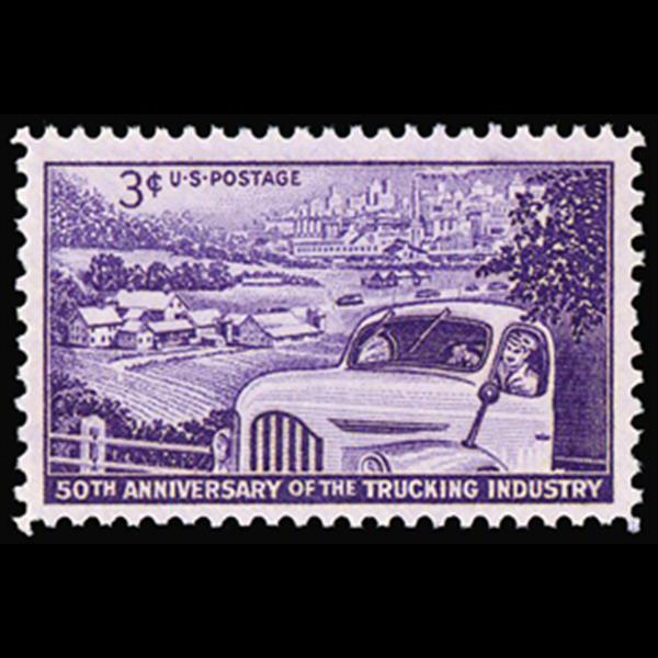 1953 3c Trucking Industry Mint Single