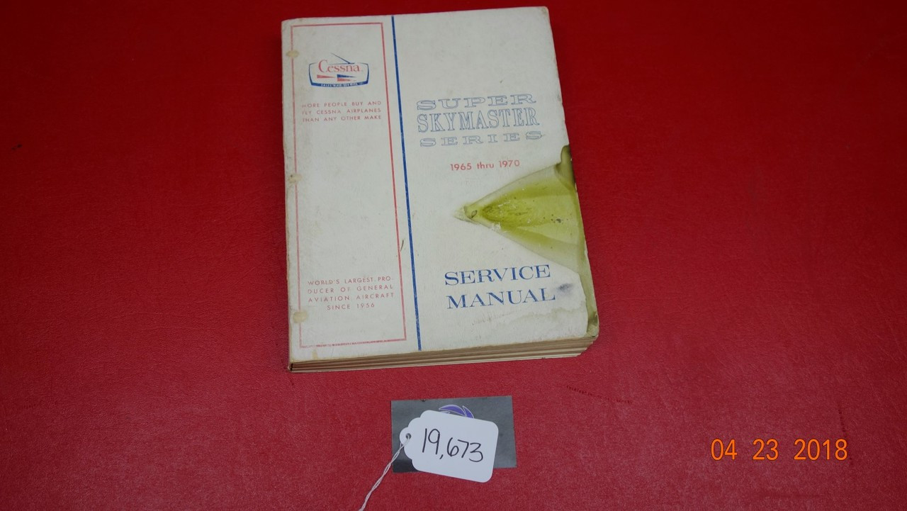 Cessna T337g Maintenance Manual