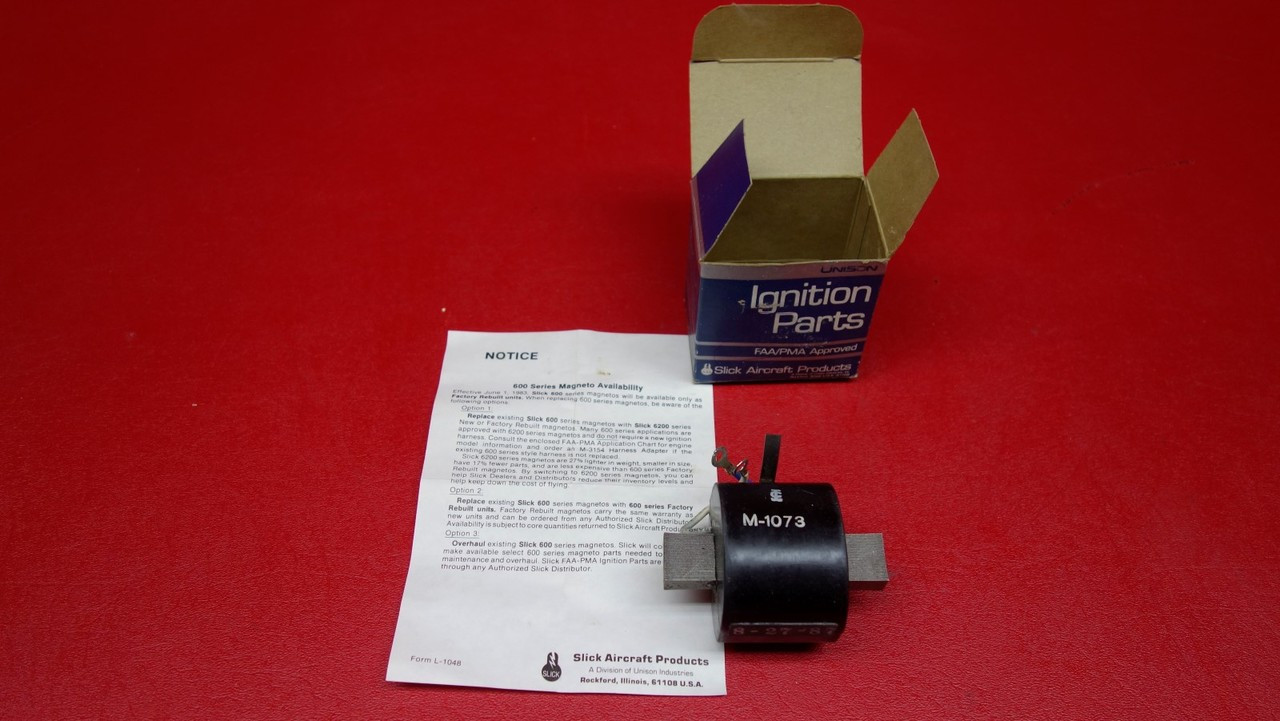 Slick Aircraft Products Ignition Coil PN M1073