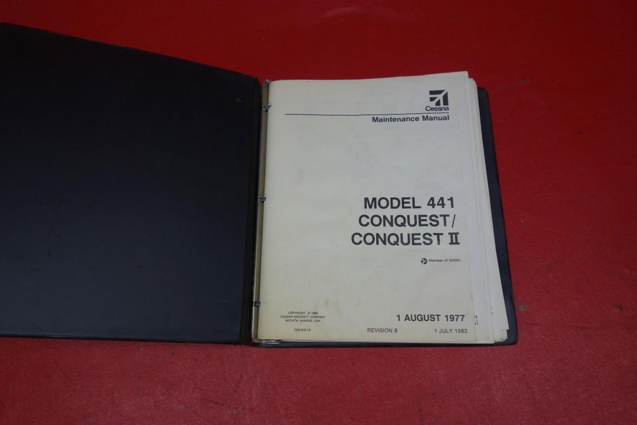Cessna 441 Conquest / Conquest II Maintenance Manual PN D2518-8-13