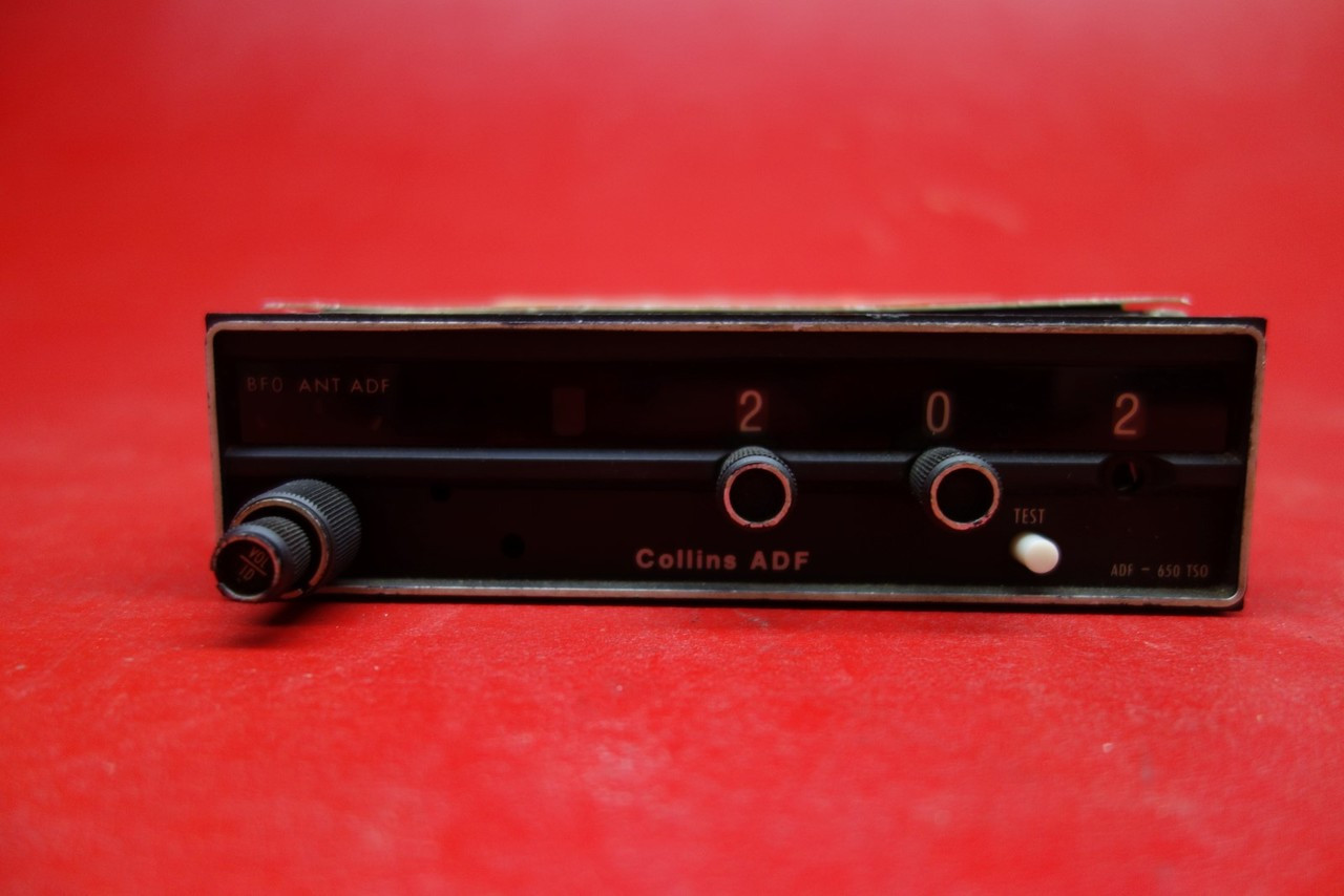 Collins RCR 650 Receiver W Tray And Connector 14V PN 622 2091