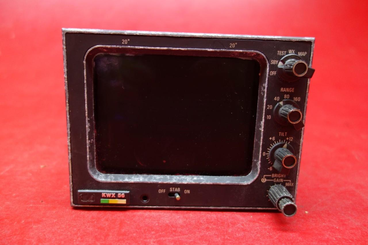 Narco KWX 56 Weather Radar System KI 244 Indicator Unit PN 066-3065-00