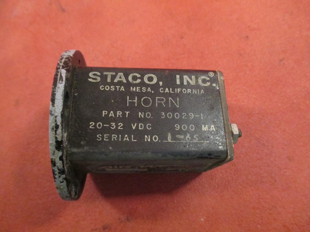 Staco Horn PN 30029-1