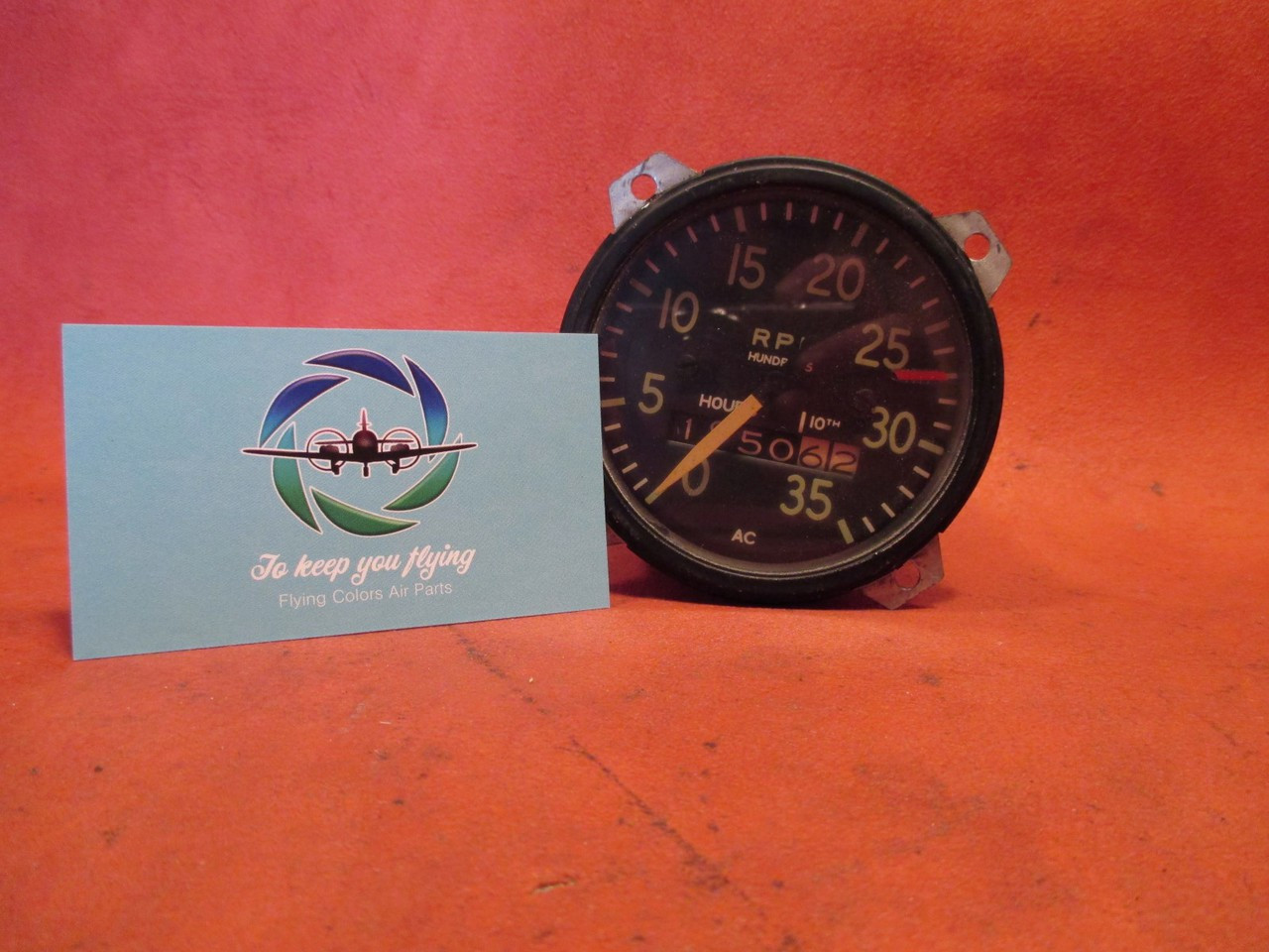 A C  Div  G  M  C  RPM Gauge/Hour Meter