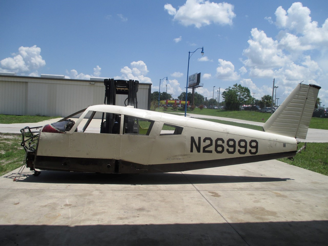 1964 Piper PA-28-180 Cherokee Fuselage (EMAIL OR CALL TO BUY)