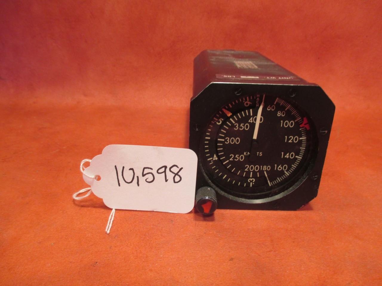 Bendix Corp 575 Mach Airspeed Indicator PN 26320-264