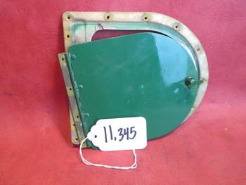 Piper PA-31P Navajo Wing Fillet Access Door W/ Retainer PN 42173-00, 42173-000