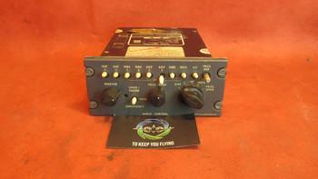 Avtech Corporation LESII62A Audio Control Panel 28 VDC PN 793-20