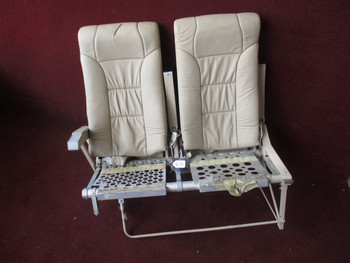Sabreliner NA-265-80 Bench Seat PN B262F130FB (EMAIL OR CALL TO BUY)