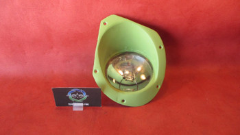 Cessna 210, T210, P210 RH Landing Light Cover w/ Lamp PN 2113191-2, 4591