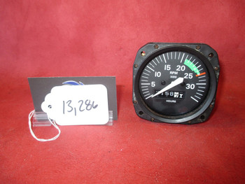 Cessna, Superior Labs Inc Mechanical Tachometer PN S3329-1, SL1010-005-1-1