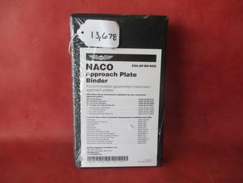ASA  Approach Plate  Binder PN ASA-AP-BD-NOS