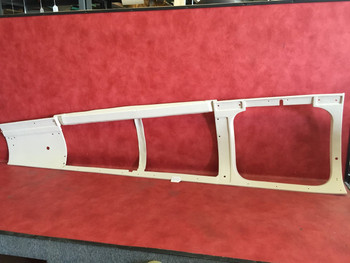 Beechcraft  RH Window Molding PN 106-530065-197 (EMAIL OR CALL TO BUY)
