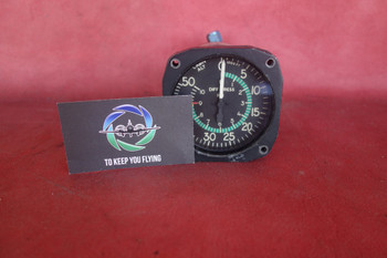 Aerosonic Corporation Cabin Altimeter Differential Pressure Indicator PN 50050-1109