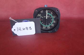 Aerosonic Corporation Cabin Altimeter Differential Pressure Indicator PN 50050-1109
