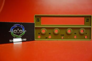 Aircraft RT-328T NAV COMM 300 Series Radio Face Plate